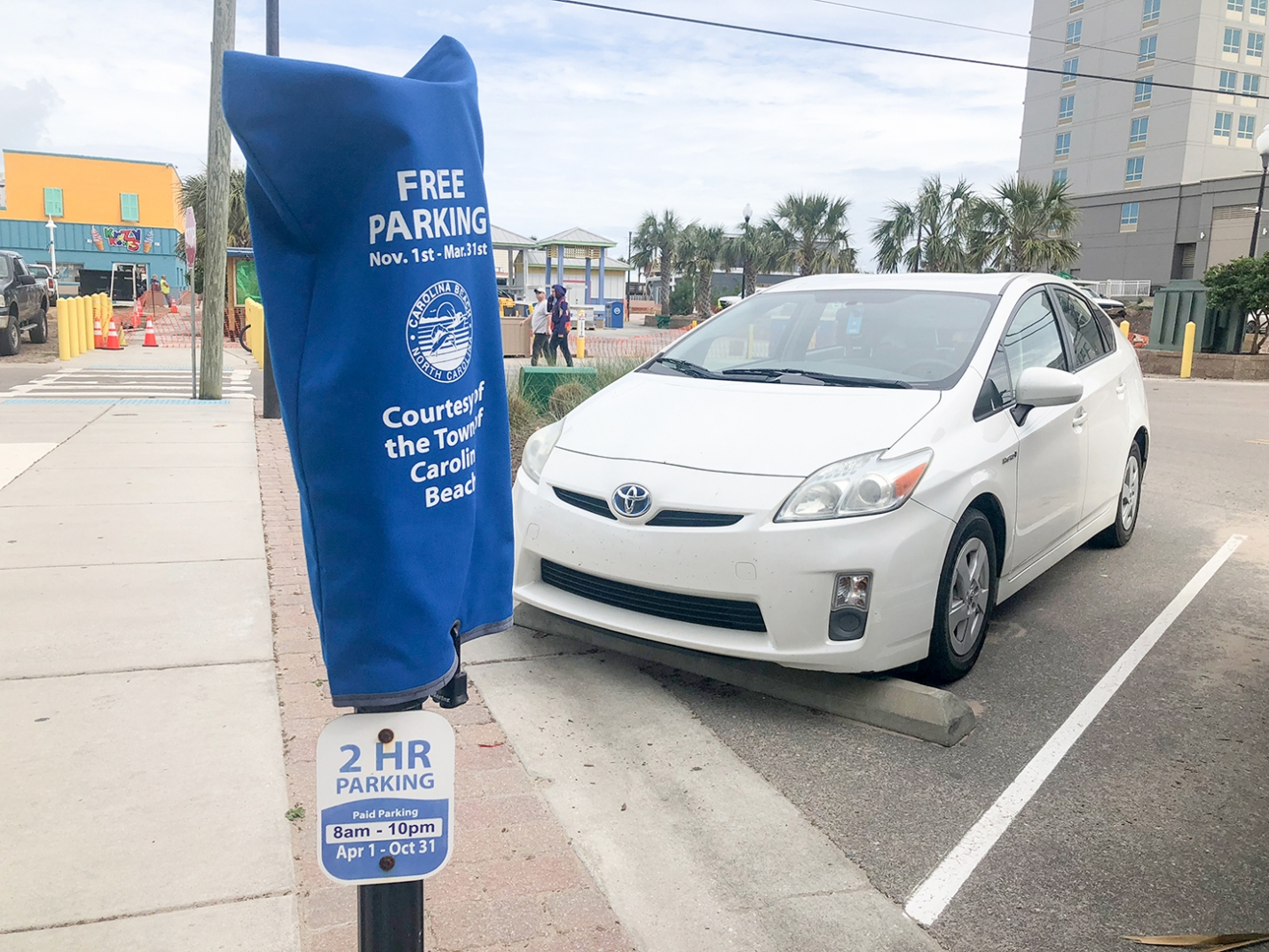 Carolina Beach Increases Parking Rates: Kure Beach Considering Paid Parking