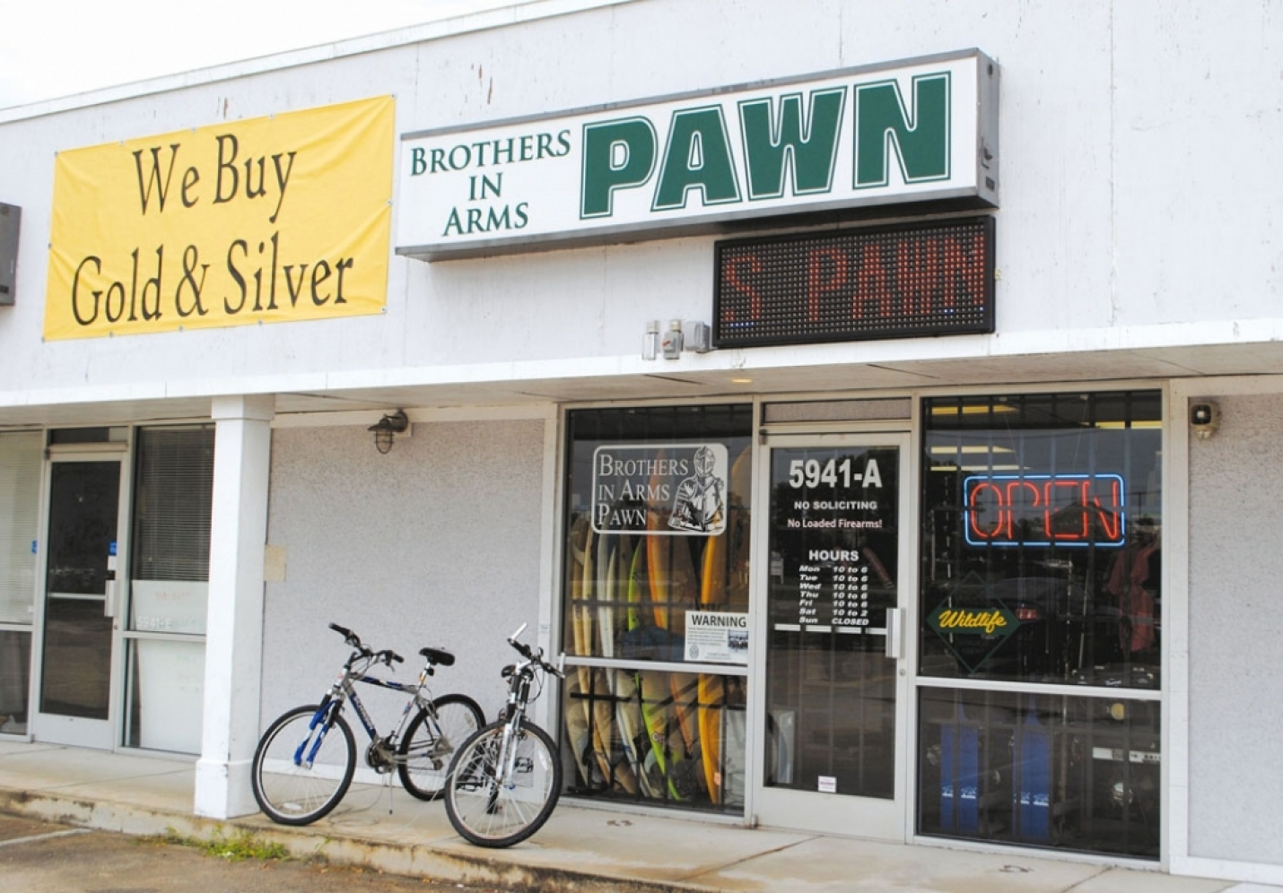 Brothers In Arms Pawn: We Buy Gold