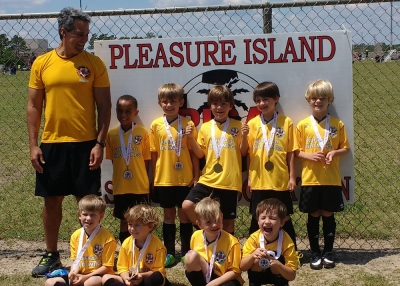 Pleasure Island Soccer Opens Spring Registration