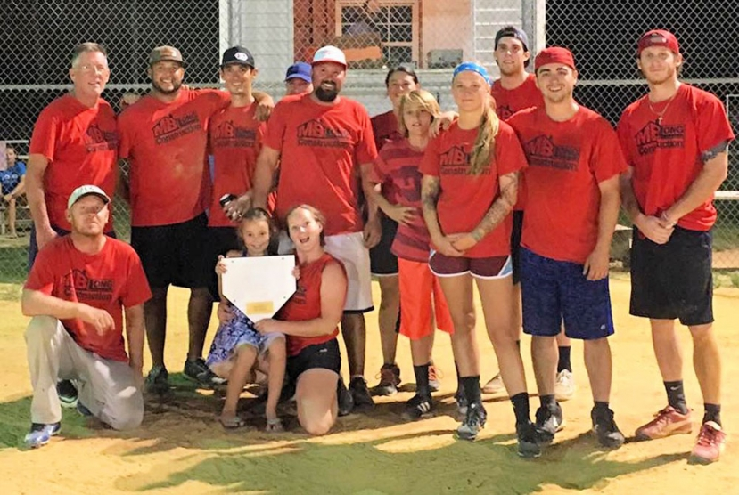 Pleasure Island Athletic League Coed Softball Winners Announced