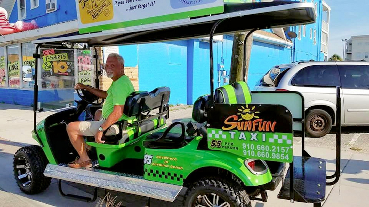 SunFun Announces All New Golf Cart Taxi Service and Cart Tours