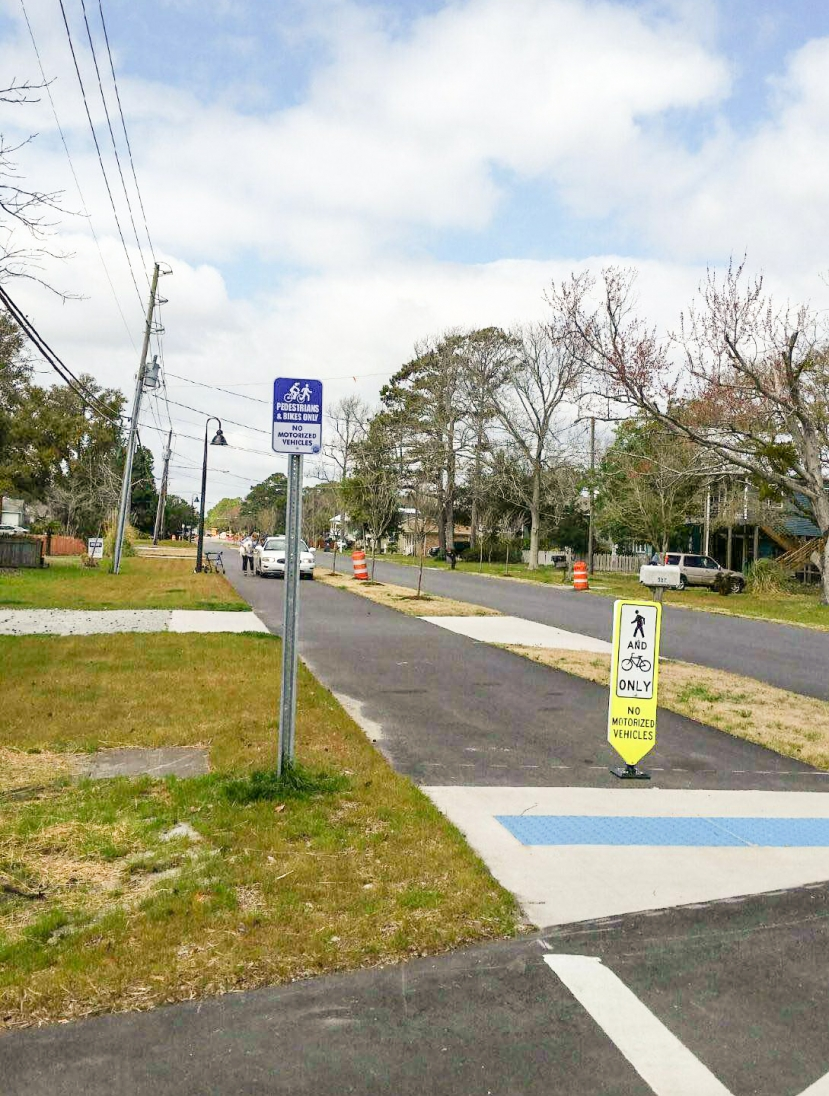 Editorial: Signs, More Signs, And Still People Drive On Bike Path