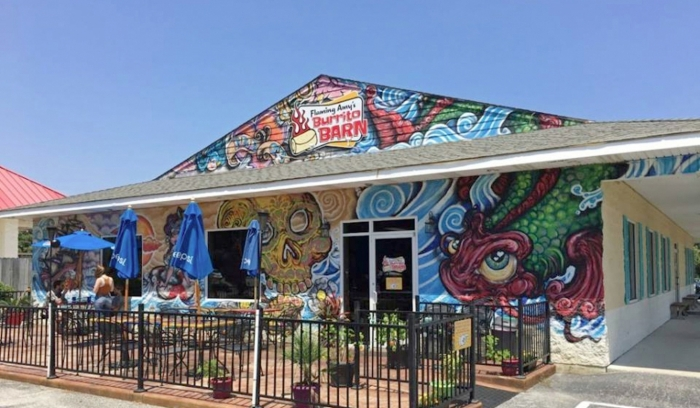 Flaming Amy's Burrito Barn in Carolina Beach: Download the App!