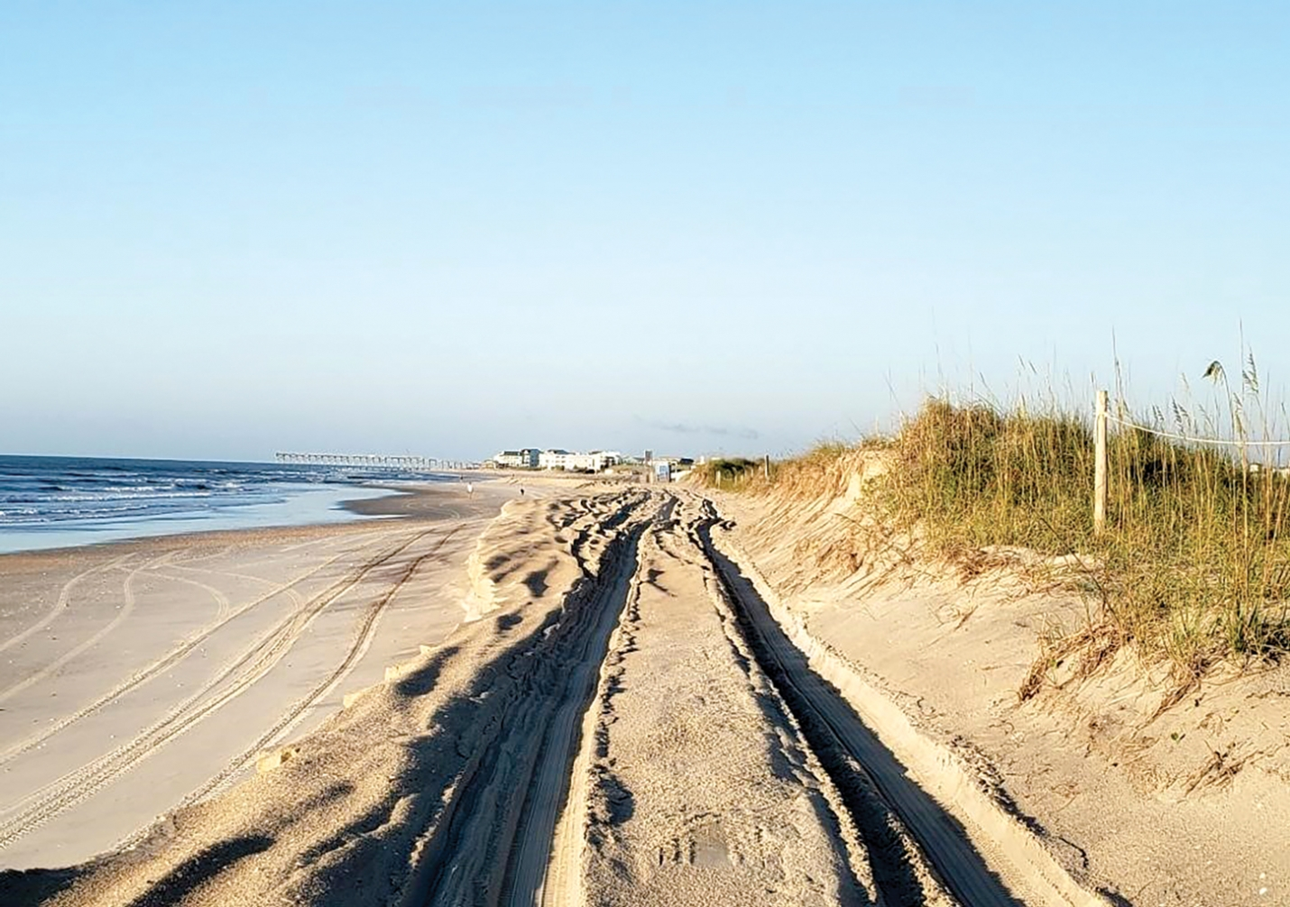 If you are planning to visit Freeman Park on the North End of Carolina Beach over the July 4th, holiday weekend, call ahead first (910-458-2999). The Town is temporarily closing the park at times to prevent overcrowding after beach erosion made nearly half of the park inaccessible for driving and camping.