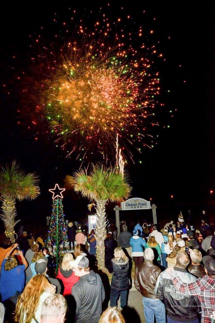 Kure Beach Welcomes 2017 with a Bang